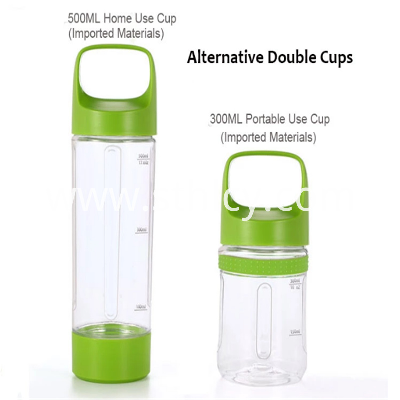 Safe and environmentally friendly portable juicer cup