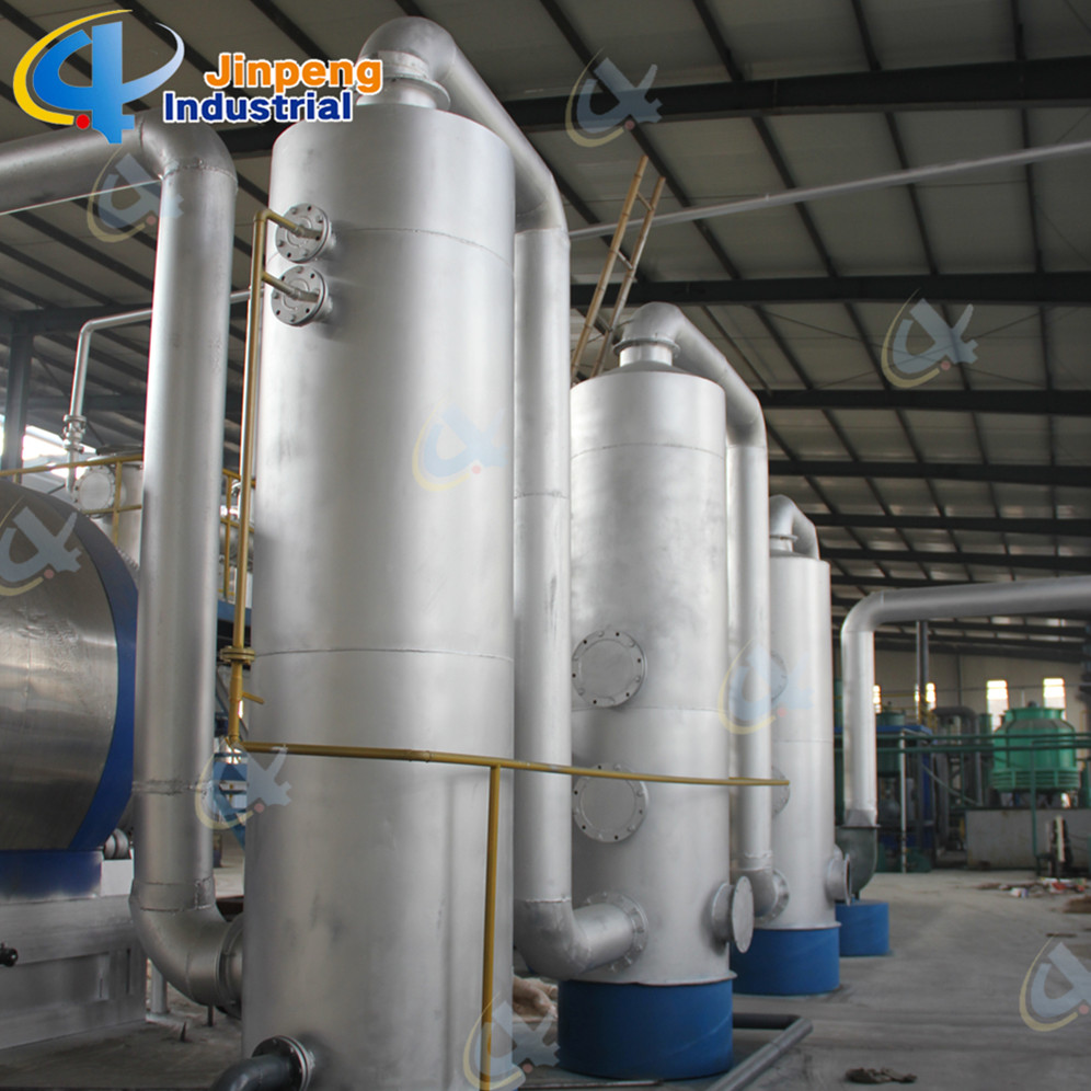 Exporting Scrap Rubber Waste Tyre Pyrolysis Plant
