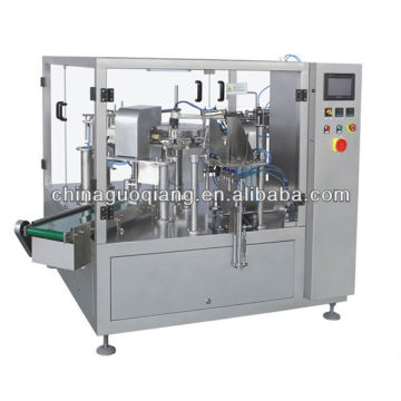 Automatic stand up pouch vertical packing machine