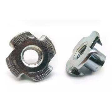 Stainless/Carbon Steel Tee Nuts With Pronge