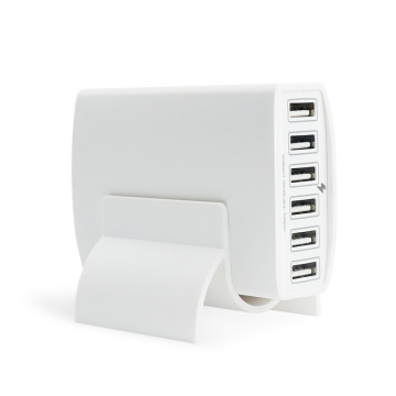 Intelligent USB Charging Technology 6-Port 60W USB Charger