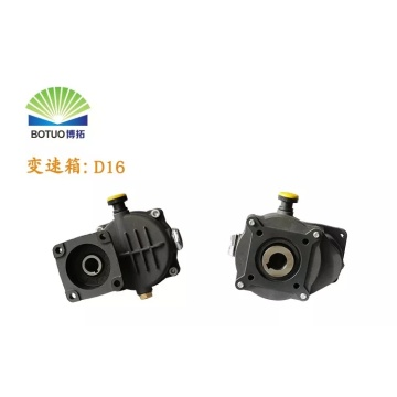 D16 plunger pump gear box