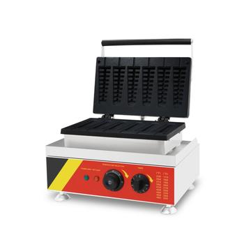Best selling lolly waffle machine with stainless steel