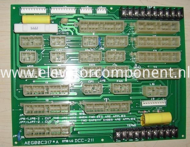 Interface Board for LG Sigma Elevators DCC-211