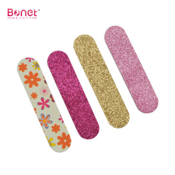 Colorful flicker nail files