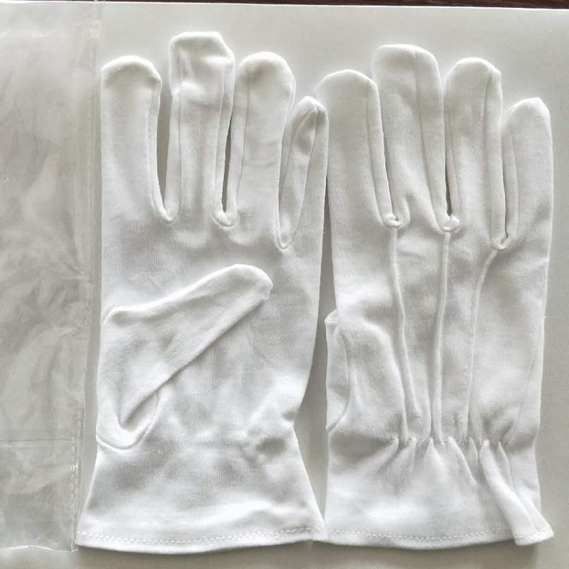 White Cotton Parade Ceremonial Gloves