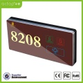 Electronic Hotel Room Door Number/Name Plates