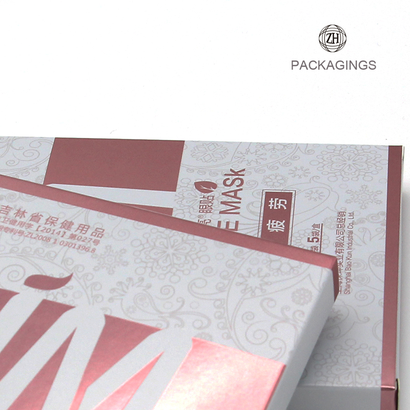 Paper face mask box printing wholesale