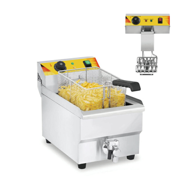 commercial and electric fryer with CE