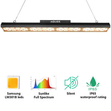 LED Grow Strip Light 220W Samsung 301B