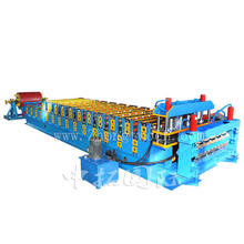 Double Deck Corrugated Roof Sheet Making Machine