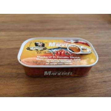 Canned Mackerel Fillets In Tomato Sauce
