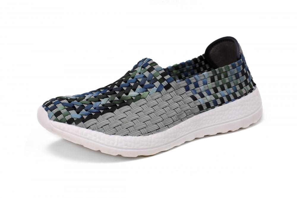 Good Dirt Resistance Woven Hollow Shoes