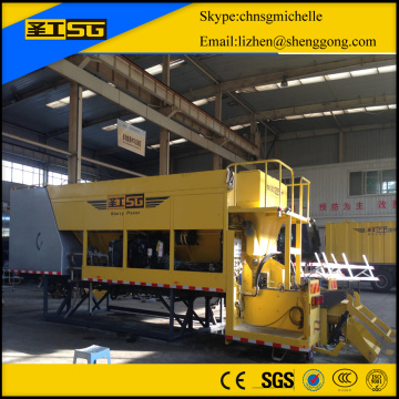 construction slurry seal spreader truck