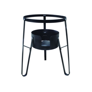 High-temperature outdoor cooking burner stand 27 inches