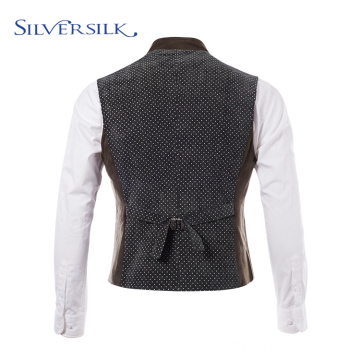 Anti wrinkle royal waistcoat suit vest men
