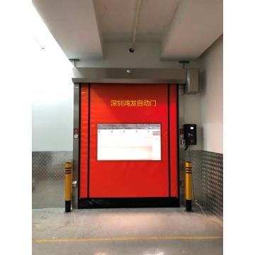 Self-repairing high-speed doors