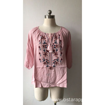 OEM Fashion Loose Blouse for Women