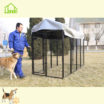 Large household dog cage