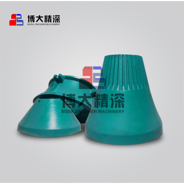 stone mining cone crusher spare parts concave mantle