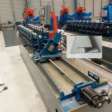 H jointing strip ceiling forming machine