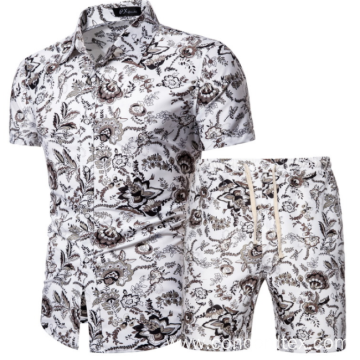men's fashion floral shirt