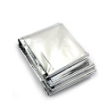 210x160cm gold/silver foil emergency thermal blanket