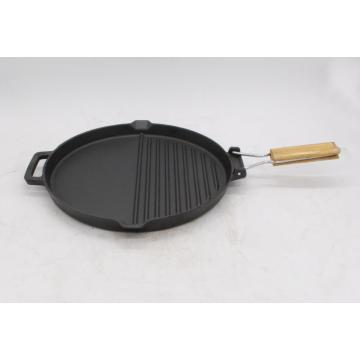 Oven Types Cast Iron pre-seasoned Griddle