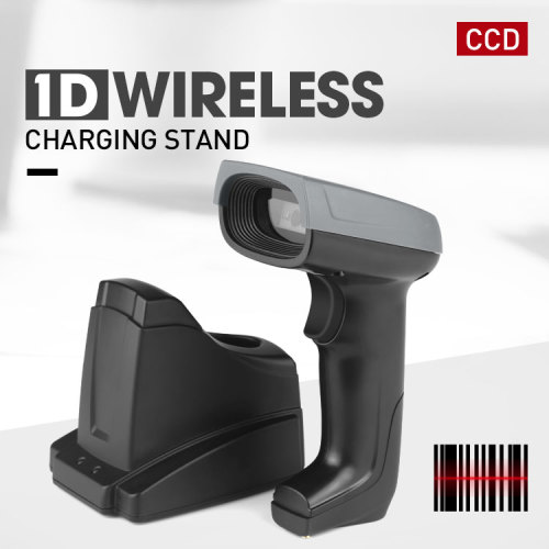 1d Handheld CCD wireless barcode scanner with charger