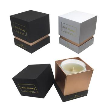 Luxury Rigid Cardboard Candle Gift Paper Box