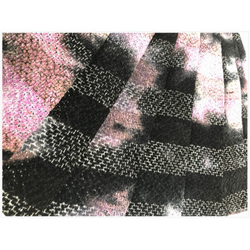 Poly Sheril Tie Dyed Fabric