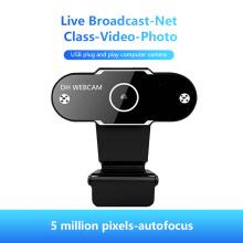 HD Webcam 1080P With Mic Rotatable PC Desktop Web Camera Cam Mini Computer Web Cam For PC Laptop Desktop Video Recording