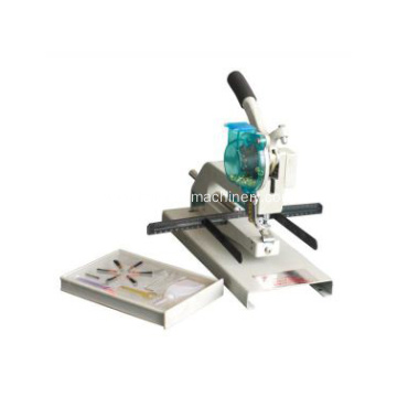 manual long arm and single head eyelet machine