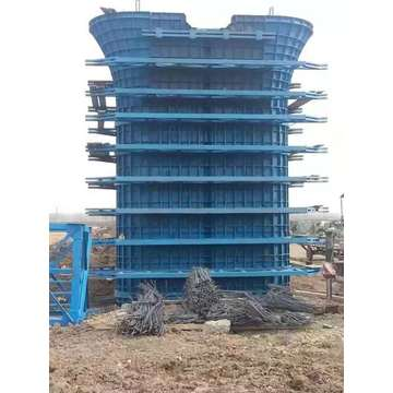 Steel Bridge Viaduct Column Pier Formwork