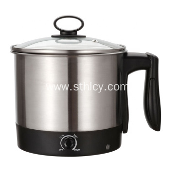 Milk Soup Stainless Steel Electric Cooking Pot