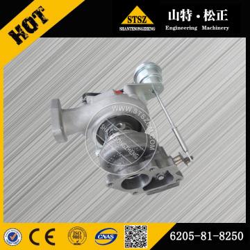 Supply Komatsu excavator PC78US-6 turbocharger 6205-81-8250