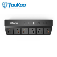 3 USB ports multi outlet electrical power strip