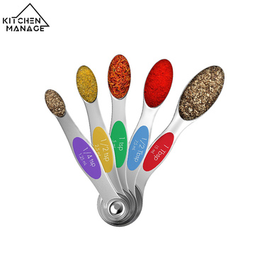 Stainless Steel Magnetic Measuring Spoons