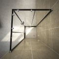 Home bathroom freestanding stainless simple shower room