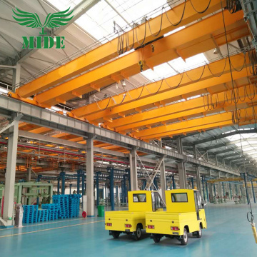 16 ton double beam bridge crane