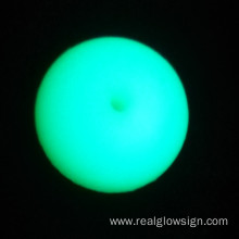 Demo Photoluminescent Realglow Biru Hijau