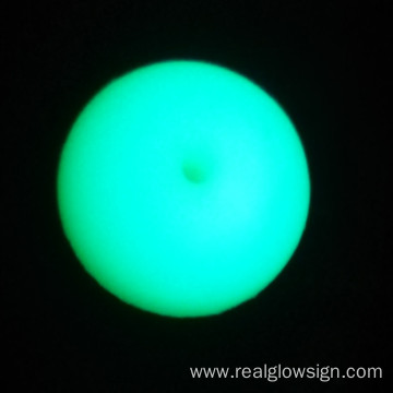 Realglow Photoluminescent Demo Blue Green