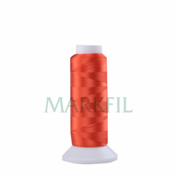 Yarn Dyed 100% Viscose Rayon Multi-head Machine Thread