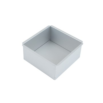 6 Inch Square Cake Mould With Removable Bottom