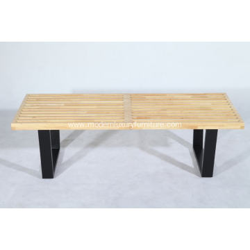 Replica Rubber Wood Nelson Bench