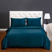 Silk Luxury Bedding Comforter Covers Queen Size