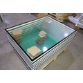 Hollow glass windows for GMP clean room
