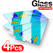 4Pcs Full Tempered Glass For Huawei P30 P40 Lite P20 Pro Lite P Smart 2019 Screen Protector For Huawei Mate 30 20 Lite P20 Glass