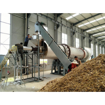 Rice husk carbonization activated carbon furnace for sale