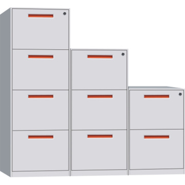 White Vertical File Cabinet